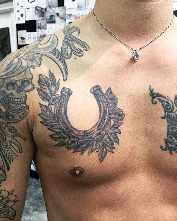 Tatouage De Fer à Cheval 50 Photos Et Idées Géniales