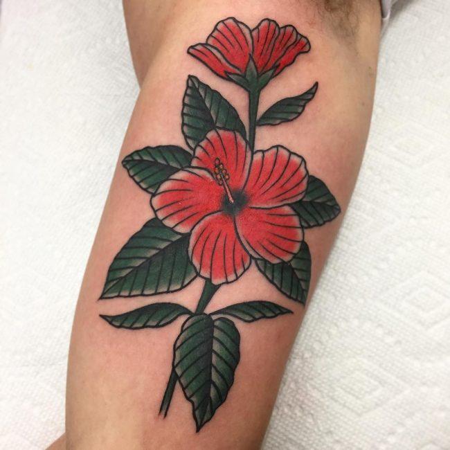 Tatouage Fleur D Hibiscus 50 Photos Et Idées Géniales