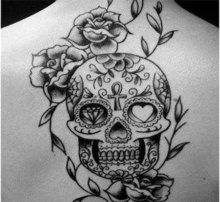 50 Idees De Tatouage Mexicain Et De Tete De Mort Mexicaine
