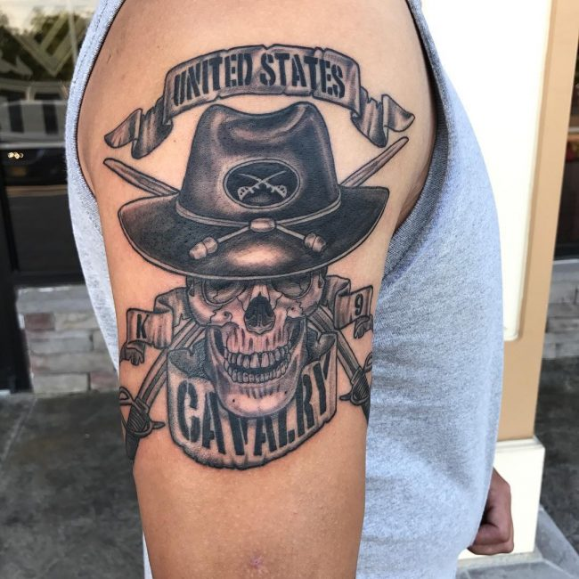 tatouage militaire : 50 photos et idées géniales !