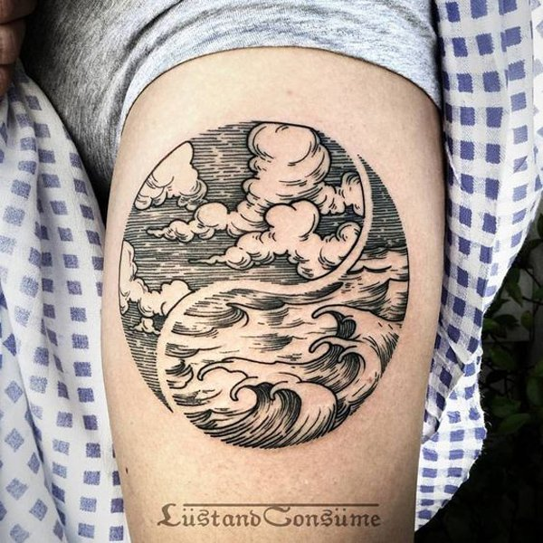 Tatouage Yin Yang 50 Idees Et Photos Sublimes