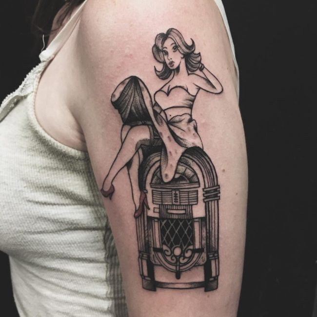 tatouage pin up : 50 photos et idées géniales !