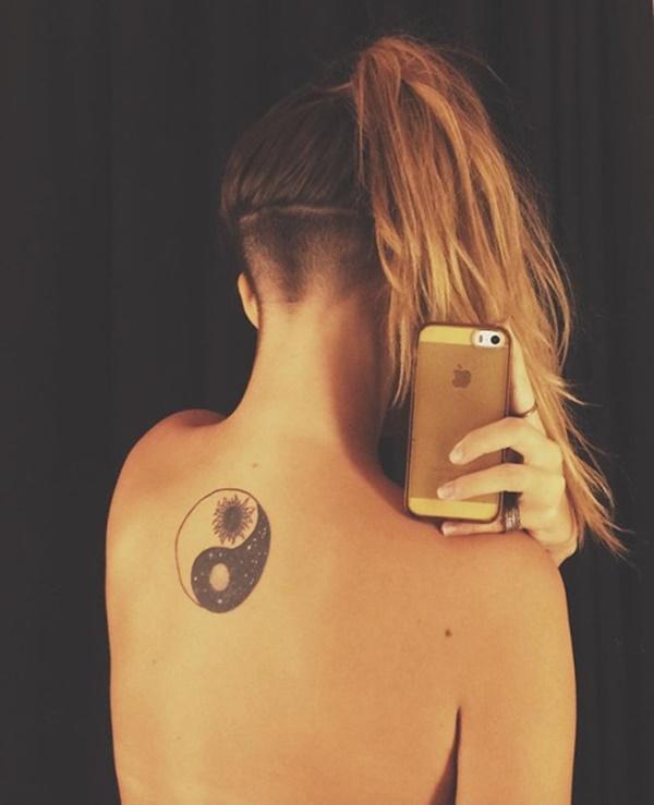 Yin Yang tatouages