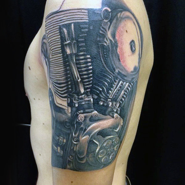 Tatouage Motard 50 Idees Et Photos Geniales