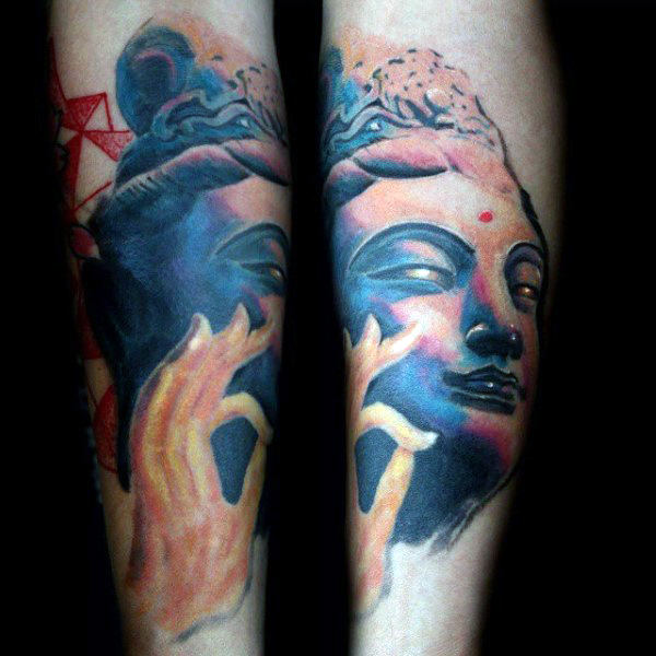 Tatouage Symbole Bouddhiste 50 Photos Et La Signification