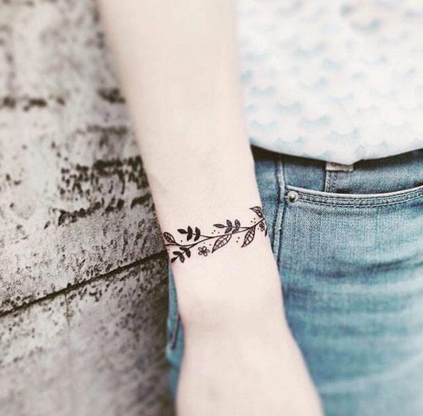 Tatouage Bracelet Homme Et Femme 50 Idees Geniales