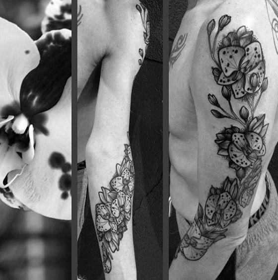 Tatouage Orchidee 50 Idees Et La Signification