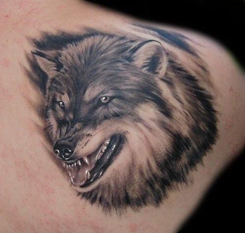 Tatouage Loup 50 Idees Et La Signification