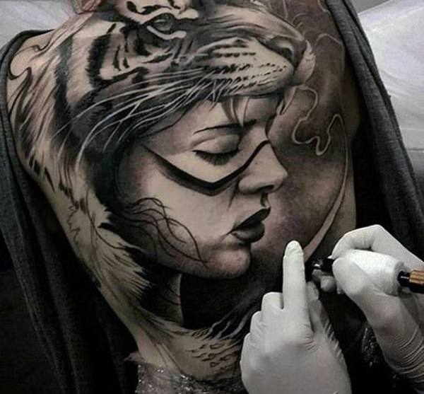 Tatouage Tigre 50 Idees Et Photos Sublimes