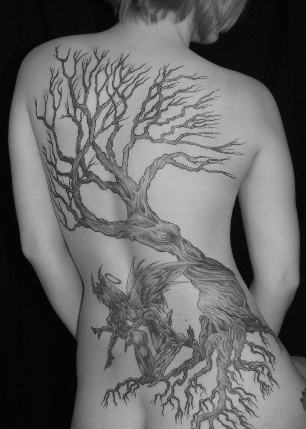 Tatouage Arbre De Vie 50 Photos Et Idees Geniales