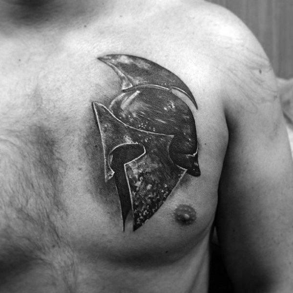 tatouage guerrier : 50 idées et photos sublimes !