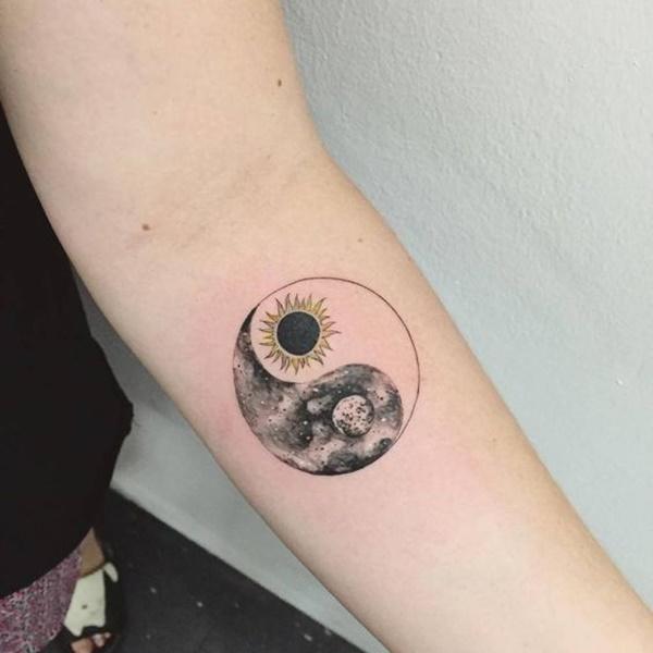 tatouage yin yang : 50 idées et photos sublimes !