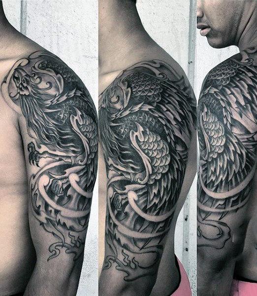 tatouage phoenix : 50 idées et photos sublimes !