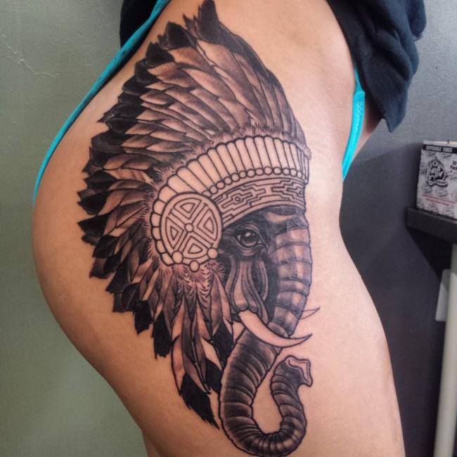 tatouage hanche femme et homme : 50 idées géniales !